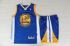 NBA Golden State Warriors  30 Blue Suits