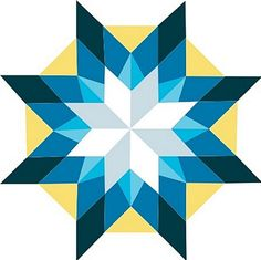 Welcome to the McDowell Quilt Trail - Ice Star