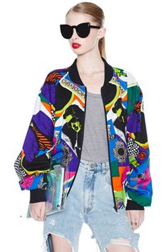 Vintage The Good Life Bomber Jacket