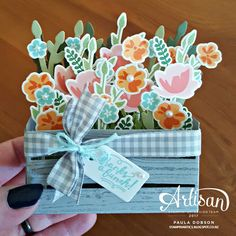 Stampinantics: JAR OF LOVE IN A CRATE - STAMPIN' UP! ARTISAN BLOG HOP