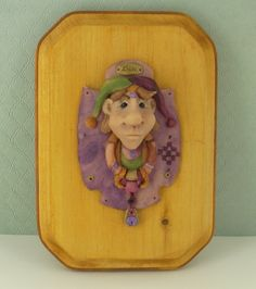 Super Sculpey® Jester Plaque