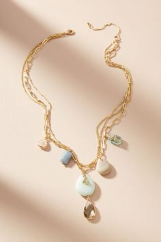 Slide View: 2: Mira Layered Pendant Necklace