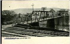 Ninth Street Bridge - Cambridge, Ohio 1901-1910