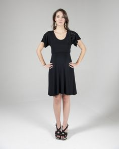 b540bcd264 Crave - Sequinned detailed dress in Black (RRP £68) 5 day rental £