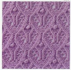 Lace Knitting Stitch #56