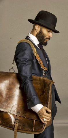 Handmade Genuine Leather Tote bag, Leather Briefcase, Messenger Shoulder Bag