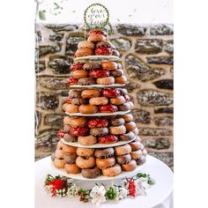 Unusual Wedding Cakes Pizza Cheese Donut Rice Krispies Treat | The Feast