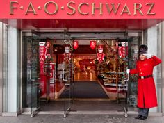 Danced on the piano at FAO Schwarz, the oldest toy store in America.