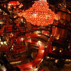 House on the Rock.I don't even know how to explain it, I felt like I was in a fantasy land the whole time Amazing Places, Beautiful Places, Wisconsin Dells, House On The Rock, Strange Places, Spring Green, Kitchen Designs, Main Street, Iowa