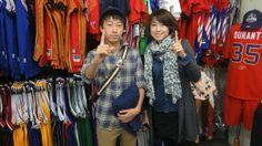 【新宿2号店】 2014年4月20日 トゥース!!ポーズがキマってます☆アメフトの練習がんばってくださいね~ #nfl