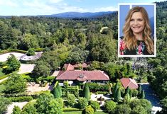 'Catwoman' actress Michelle Pfeiffer lists Woodside home for $29.5 million Woodside Homes, Ally Mcbeal, Rooftop Deck, Michelle Pfeiffer, Marvel Films, Co Founder, Johnny Depp, Catwoman, British Columbia