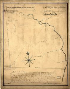 A plan of the lands in New London sequestred for the sole use and improvement of the Mohegan Indian tribe / survey'd and measured the 7th, 8th & 9th of Sept. 1736