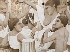 FIKOS  'The priestesses of Aphrodite' ..  [Nicosia, Cyprus 2017] (close up)