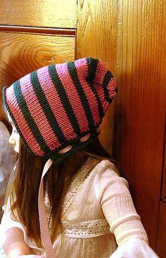 Ravelry: Penny Candy Bonnet pattern by Larissa Brown