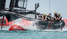 ORACLE TEAM USA win the Louis Vuitton America's Cup Qualifiers