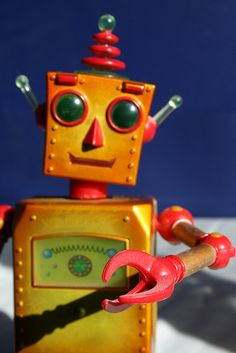 Robot by firepile, via Flickr