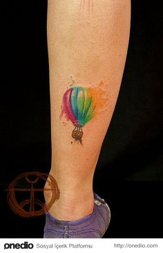 Colorful tatoos