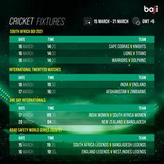ম্যাচের সিডিউল দেখুন baji555! এখনই baji555 এ বেট ধরুন এবং উইন বিগ! #baji #Sports #Cricket #Schedule #Fixtures Cricket Fixtures