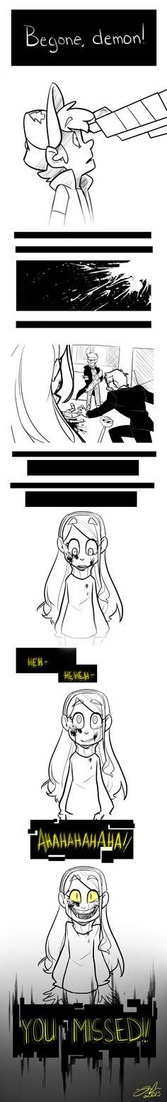 -Dipper get's shot and Mabel becomes Bill Cipher! Gravity Falls Comics, Gravity Falls Art, Bill Cipher, Billdip, Dhmis, Fandoms, Steven Universe, Monster Falls, Desenhos Gravity Falls