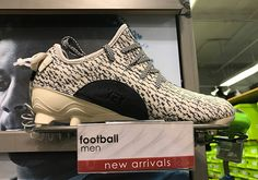 newest 725a5 a3b10  sneakers  news adidas Yeezy 350 Cleats Appear At Outlets Yeezy Cleats,  Adidas Outlet