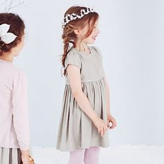 Girls' Sparkle Trim Dress | The White Company