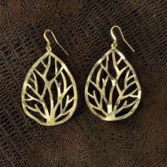 soulful thread earrings