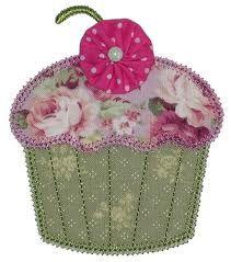 cupcake applique template - Google Search
