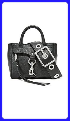 Rebecca Minkoff Women's Grommet Cross Body Bag, Black, One Size - Crossbody bags (*Amazon Partner-Link)