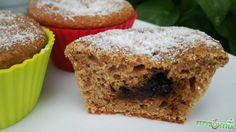 Fahéjas szilvalekváros muffin