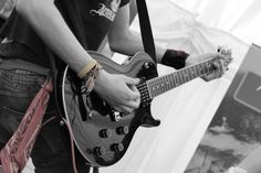 Rhythm guitarist. Colour popped.