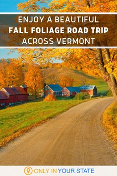 Vermont is one of the best places to enjoy fall foliage in the U.S. and this road trip features some of the state's most beautiful autumn destinations. Travel the scenic Route 100 byway and take in all the color the leaves have to offer. Make this a day trip or stay at one of our charming inns for an overnight adventure. It's perfect for a little vacation or local staycation. Photo Credit: Ron and Patty Thomas/E+ Collection/Getty Images Vacation Trips, Vacation Spots, Vacations, Places To Travel, Places To See, Beautiful Places In America, East Coast Travel, Christmas Scenes, Big Time