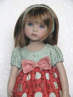 "Alphabets dress made for Dianna Effner 13"" Little Darlings"