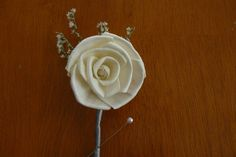 Boutonniere Sola Wood Boutonniere Wedding by TheBloomingCorner, $10.00
