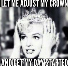 "Top Funny birthday pictures always give us a laugh. So we collected the most adorable Happy funny birthday quotes ""Sending you smiles for every moment Humor Mexicano, Monroe Quotes, Visual Statements, Queen Quotes, Princess Quotes, Funny Princess, Happy Birthday Princess, Good Morning Quotes, Funny Morning"