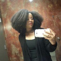"""I LOVE #afro hair! ♥"" Photo taken by @eclark6 on Instagram, pinned via the InstaPin iOS App! http://www.instapinapp.com (10/16/2014)"