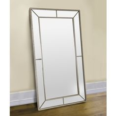 Coaster Company Silver Mirror-framed Large Mirror | Overstock.com Shopping - The Best Deals on Mirrors