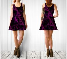 "Flare+dress+""abyss+dress""+by+Artfully+Yours"
