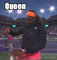 We adore you, #QueenRena. #Doin'TheWork