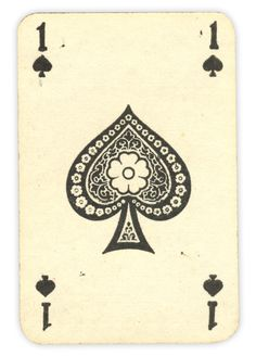 This looks great !  Vintage looking card ! The ace of spades ! 4681271.dailydollardash.com