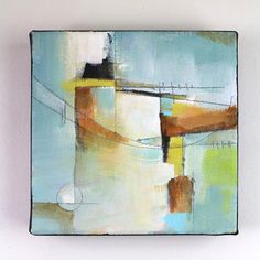 Original abstract painting acrylic painting on canvas