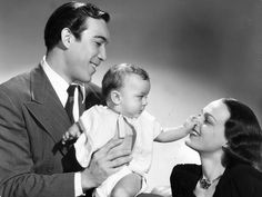 Actor Anthony Quinn and his wife Katherine De Mille, daughter of legendary film director Cecil B. De Mille, had a two and a half year old...