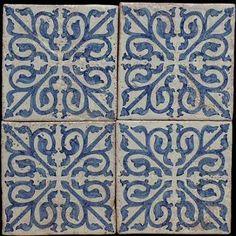 Old majolica tiles