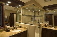 I kind of like this bathroom. 55+ Bathroom Remodel Ideas | Cuded