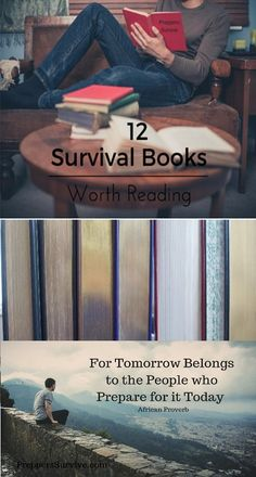 12 Non-fiction and Fiction Survival Books Worth Reading