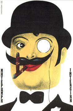 Soviet poster, missing credit.