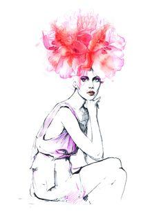 Fashion illustrations. Part 6. on Behance