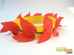 DIY Crown : DIY Handmade Leaves Crown Leaf Crown, Diy Crown, Diy Tutorial, Cord, Leaves, Handmade, Cable, Hand Made, Cords