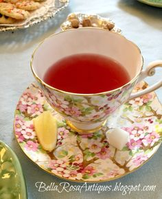 Bella Rosa Antiques: Let's Talk Vintage #65: Tea Time with Ballet Friends #teaparty #teatime #royalalbert #cherryblossom #vintagetea #teapartyideas #hightea #teapartybirthday #birthdayteaparty #nutcrackerteaparty #nutcrackerparty #teacup #pink #pinkteacup #vintagechina