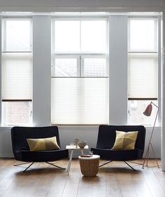 Stylish Window Treatments For Every Room In The Home - House & Living Cosy Interior, Interior Design, Modern Window Treatments, Custom Windows, Window Styles, Curtains With Blinds, Mid Century Modern Design, Beautiful Interiors, Home And Living