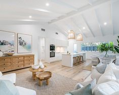 There's just something about crisp white cathedral ceilings 🙌🏻 This gorgeous home is on the market at 98 Plimsoll St… 4 Bedroom House, Home Living Room, Bungalow Homes, Ceiling Decor, Great Rooms, Decoration, Cathedral Ceilings, Building A House, Family Room